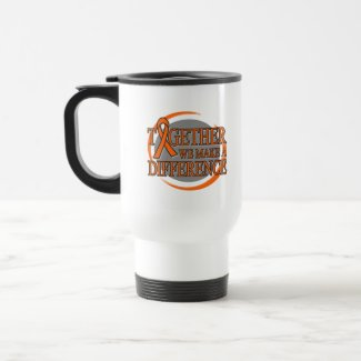 Leukemia Together We Make A Difference mug