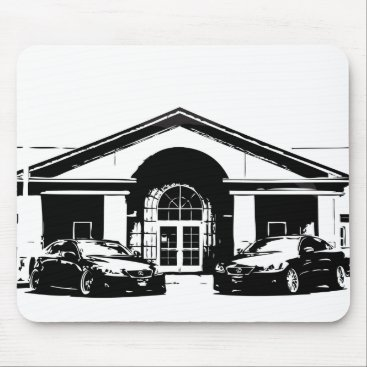 Lexus ISF IS350 Mouse Pad