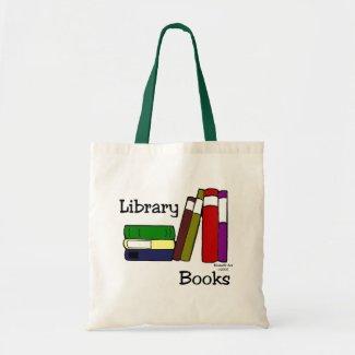 Library Book Bag Budget Tote Bag