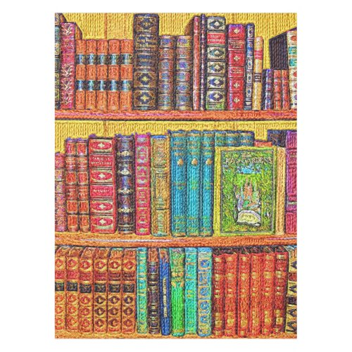Library Books Tablecloth