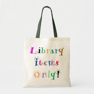 Library Tote Bag bag