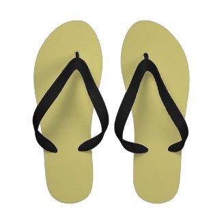 Earth Tone Flip Flops Sandals