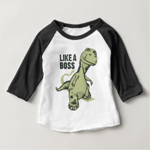 Like a Boss Dinosaur Baby T-Shirt