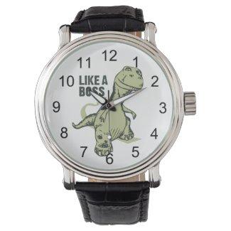 Like a Boss Dinosaur Wristwatch