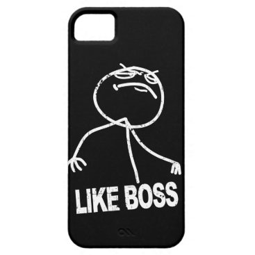 Like Boss meme iPhone SE/5/5s Case