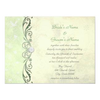 Woodland Botanical Wedding Invitation Suite