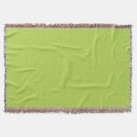 Lime Green Throw Blanket | Zazzle