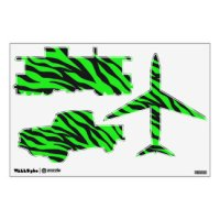 Lime Green Wall Decals & Wall Stickers | Zazzle