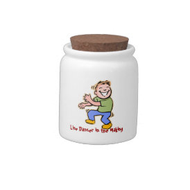Line Dancer in the Making! (Boy) Candy Jars