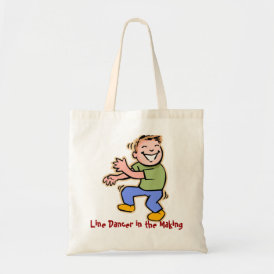 Line Dancer in the Making! (Boy) Tote Bag