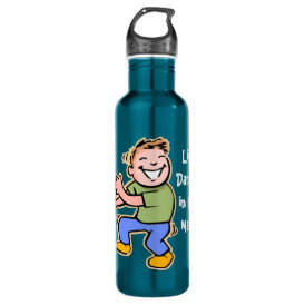 Line Dancer in the Making! (Boy) Water Bottle