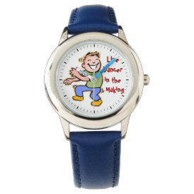 Line Dancer in the Making! (Boy) Wristwatch