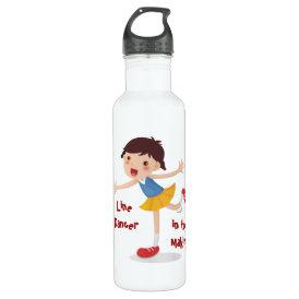 Line Dancer in the Making! - Girl Water Bottle