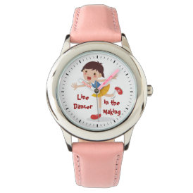 Line Dancer in the Making! - Girl Wristwatch