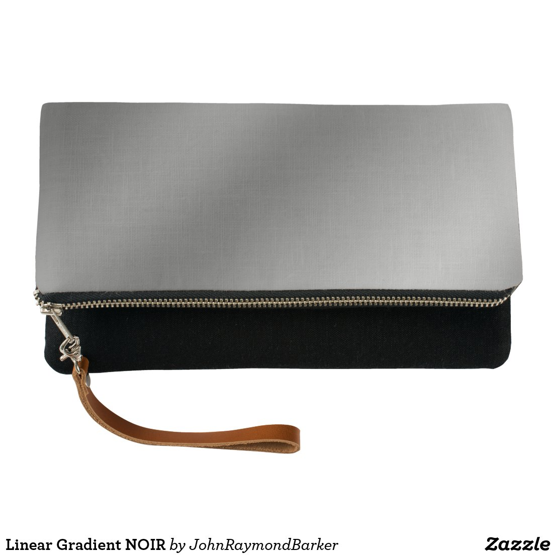Linear Gradient NOIR Clutch