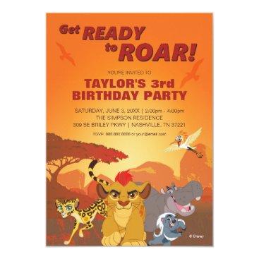 Lion Guard   Birthday Card