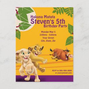 lion king invitations zazzle
