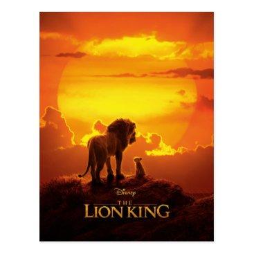 Lion King | Mufasa & Simba At Sunset Postcard