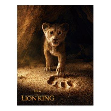 Lion King | Simba Following In Mufasa's Step Postcard