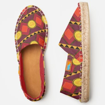 Lion King | Simba Icon African Style Pattern Espadrilles