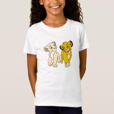 Lion King's Simba & Nala smiling Disney T-Shirt