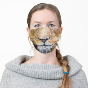 Lion Nose and Mouth Cloth Face Mask