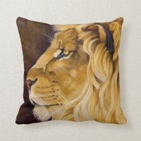 Lion Pillow | Zazzle