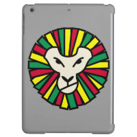 Lion Rastafarian Flag Cover For iPad Air