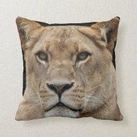 Lion Throw Pillow | Zazzle