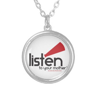 Listen To Your Mother Gifts Silver Plated Necklace