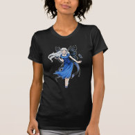 LIttle Blue Fairy ladies T-Shirt