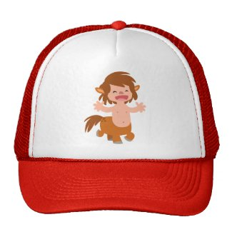 Little Cartoon Centaur Hat hat