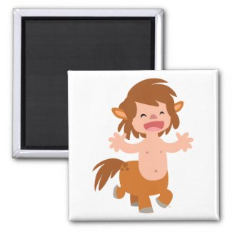 Little Cartoon Centaur Magnet magnet