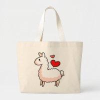 Little Llama Large Tote Bag