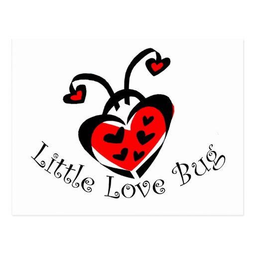 Little Love Bug! Postcards From Zazzlecom