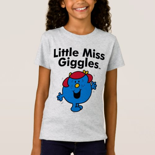 Little Miss   Little Miss Giggles Likes To Laugh T-Shirt