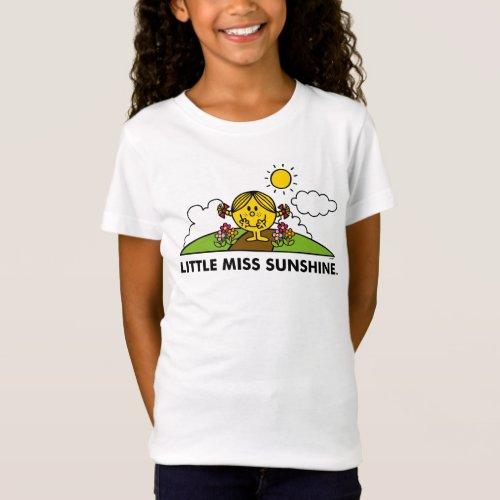 Little Miss Sunshine   Back To Nature T-Shirt