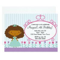 Little Princess Birthday Party Card