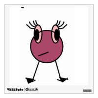 Little Monster Wall Decals & Wall Stickers | Zazzle