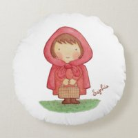 Little Red Riding Hood Pillows - Decorative & Throw ...