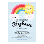 ❤️ Little Sunshine Birthday invitation