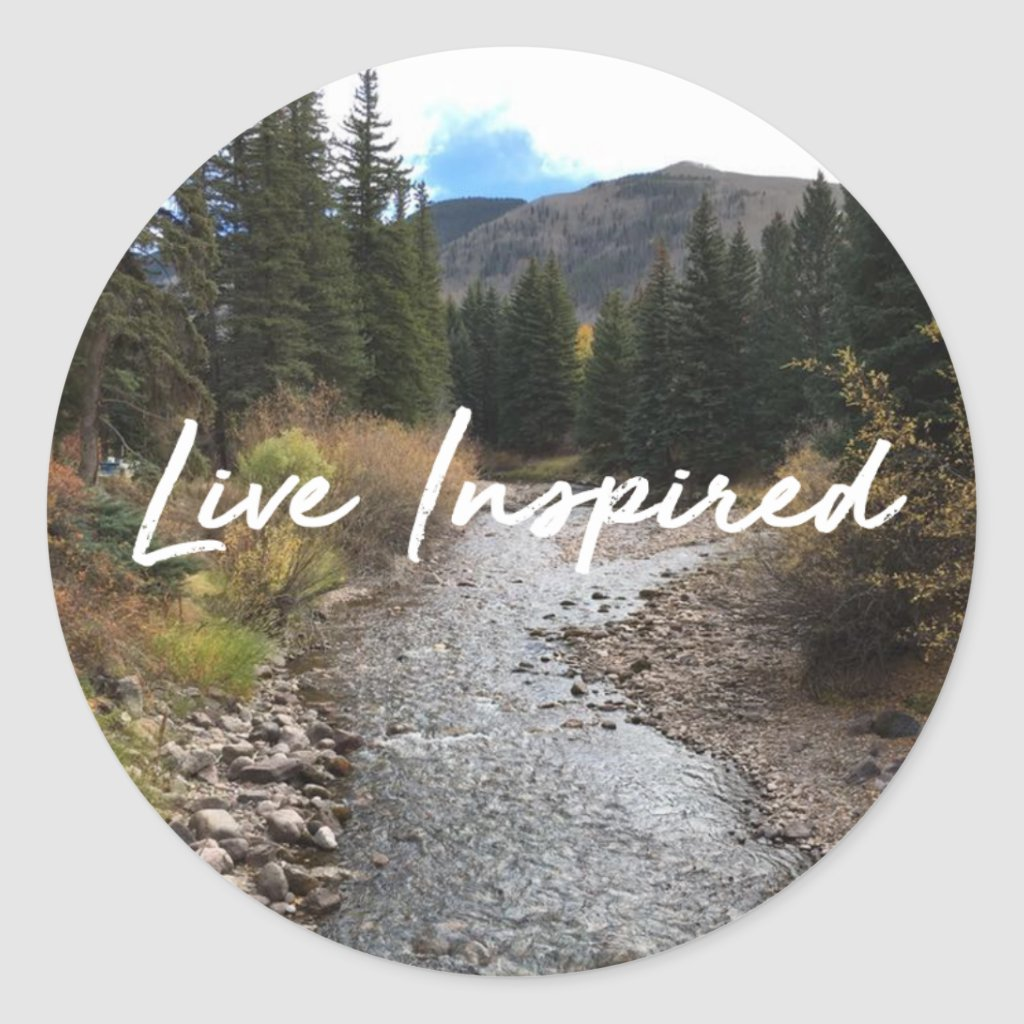Live Inspired Sticker
