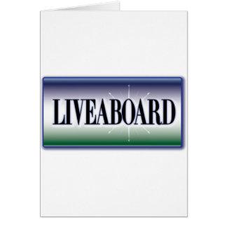 Liveaboard Cards