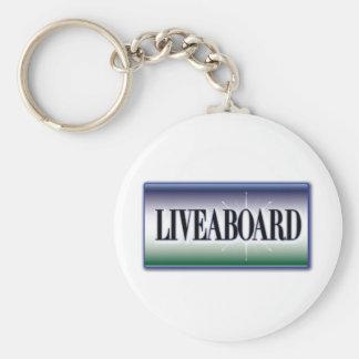 Liveaboard Key Chains