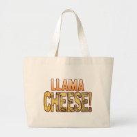 Llama Blue Cheese Large Tote Bag