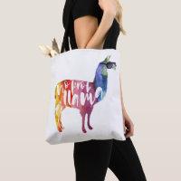Llama. No Probllama. No Prob-llama. Funny Sayings Tote Bag