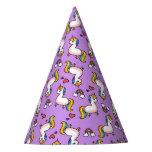 Llamacorn Madness Party Hat