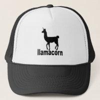 llamacorn T Shirt hK.png Trucker Hat