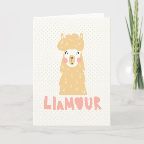 llamour holiday card