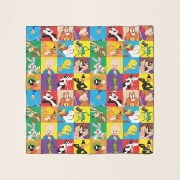 LOONEY TUNES™ Character Grid Scarf